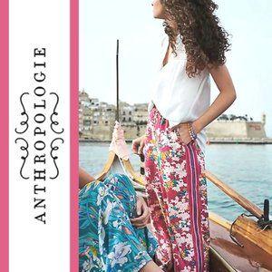 Anthropologie/ett:twa | Floral Print Cropped Pants